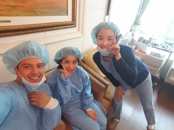lasik patient at s&B eye center in seoul, korea through seoul guide medical with tony medina